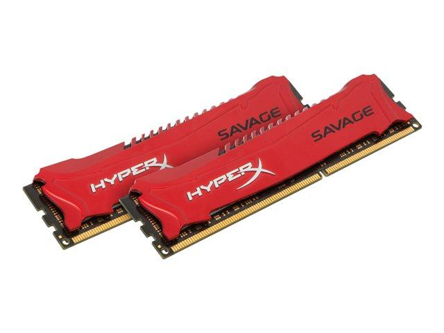 Kingston HyperX Savage Red Series 16GB (2x8GB) DDR3-1866