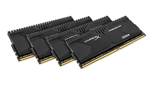 Kingston HyperX 16GB (4x4GB) DDR4-2800