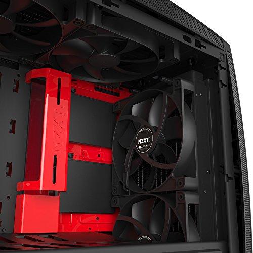 NZXT Manta Matte Mini ITX Desktop (Preto / Vermelho)