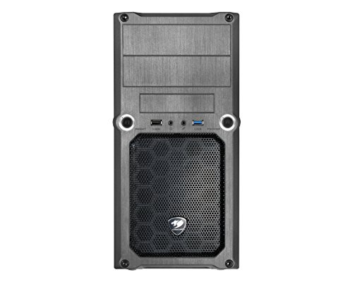 Cougar MG100 MicroATX Mini Tower (Preto)