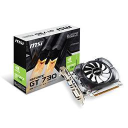 MSI GeForce GT 730 2GB GeForce 700 Series