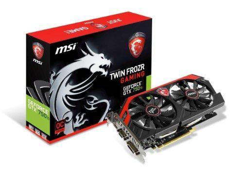 MSI GeForce GTX 750 Ti 2GB GeForce 700 Series
