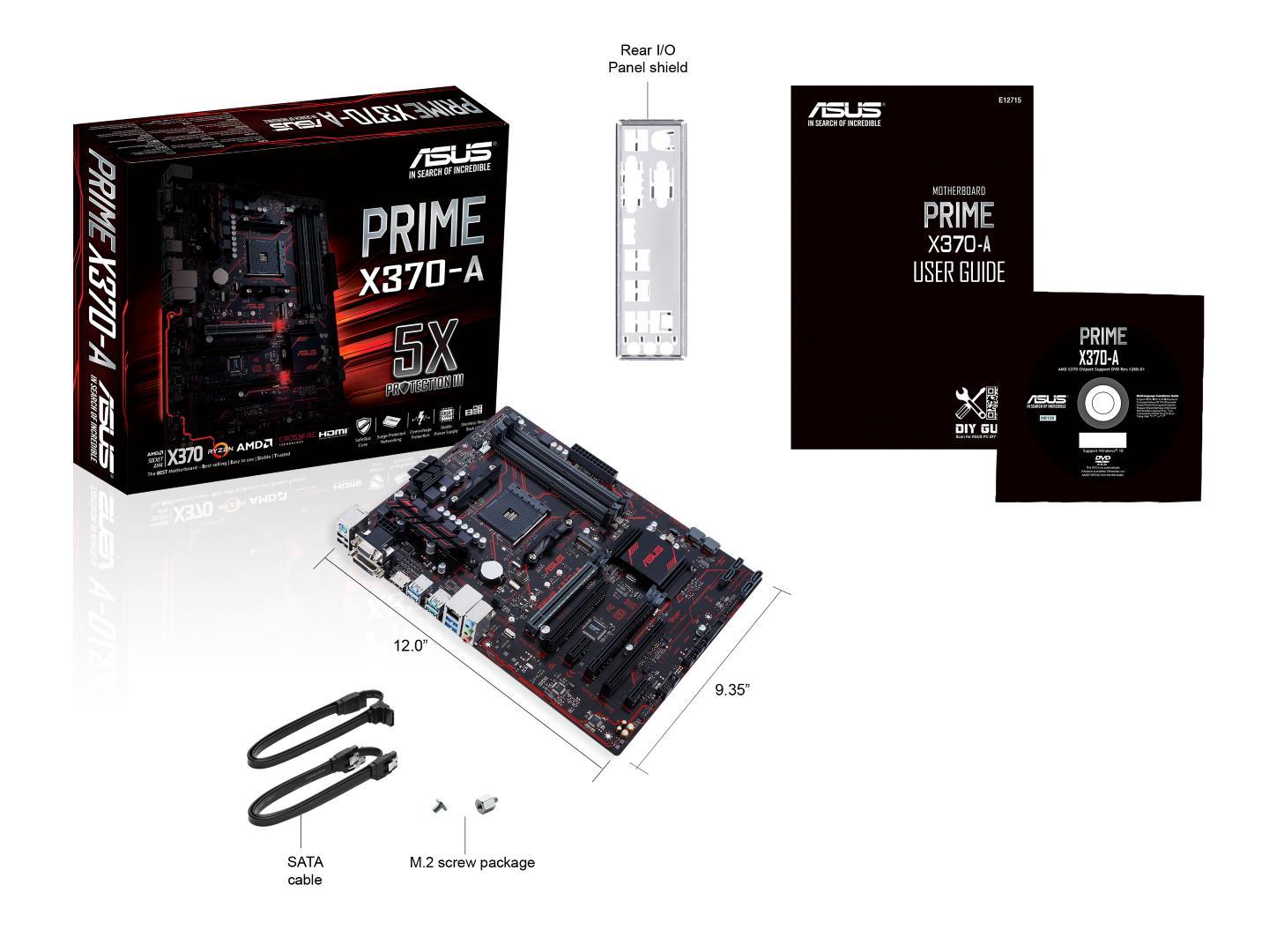 Asus PRIME X370-A ATX AM4