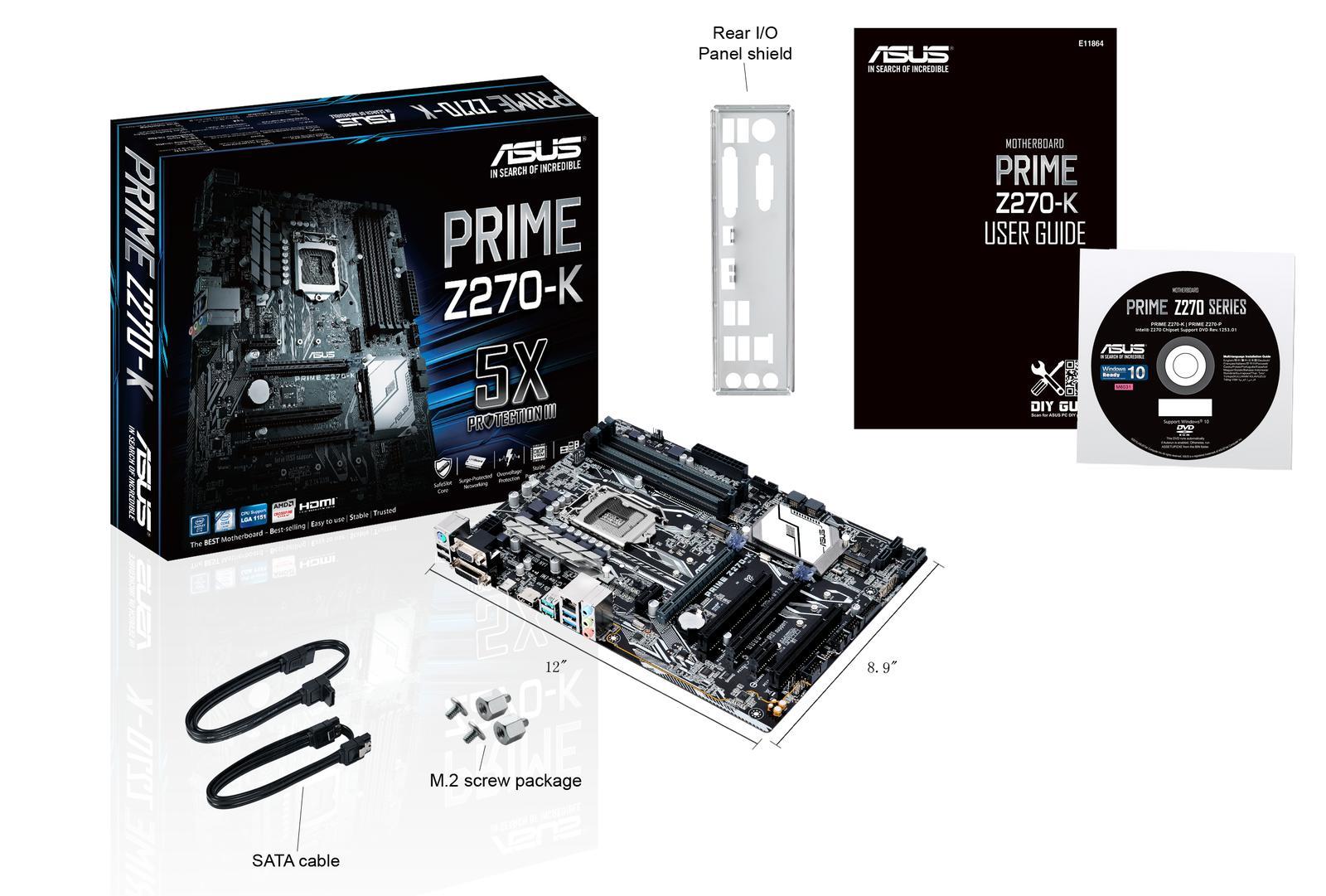 Asus PRIME Z270-K ATX LGA 1151