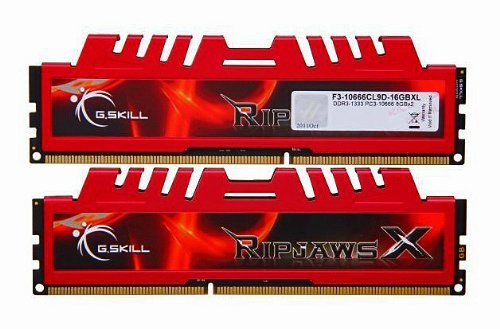 G.Skill Ripjaws X Series 16GB (2x8GB) DDR3-1333