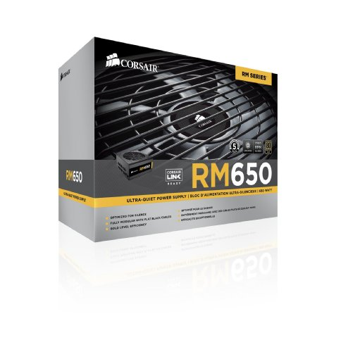 Corsair RM650 650W Certificado 80+ Gold Full-Modular ATX12V / EPS12V