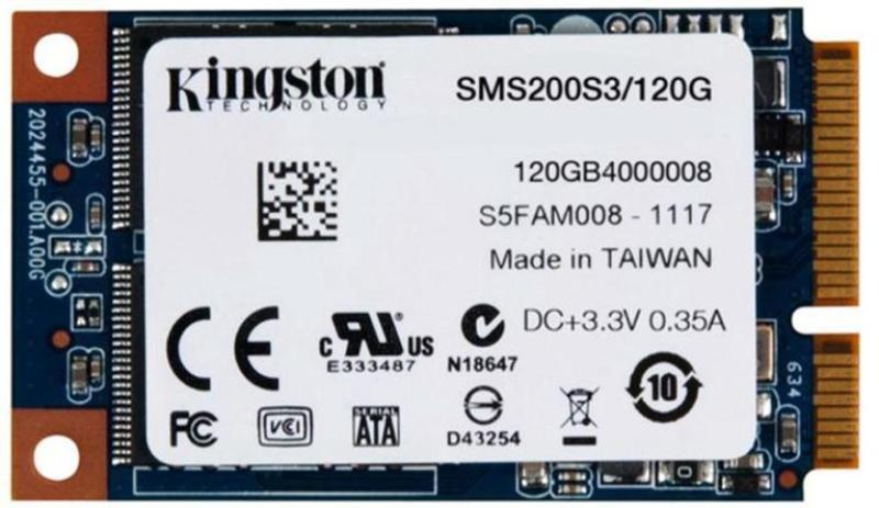 Kingston SSD SSDNow mS200 120GB mSATA
