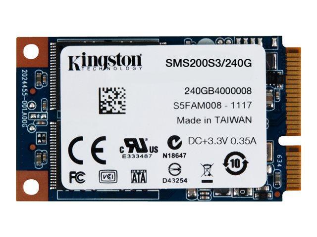 Kingston SSD SSDNow mS200 240GB mSATA