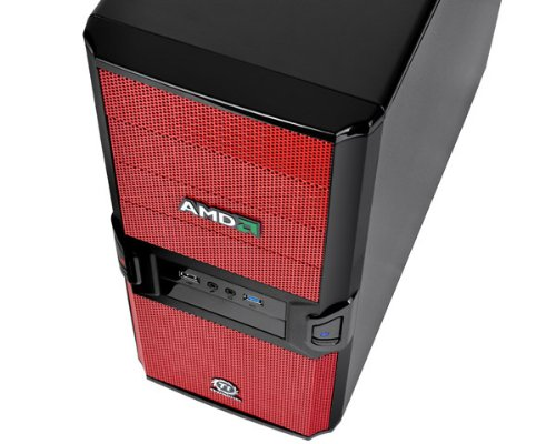 Thermaltake V3 Black AMD Edition ATX Mid Tower (Preto / Vermelho)