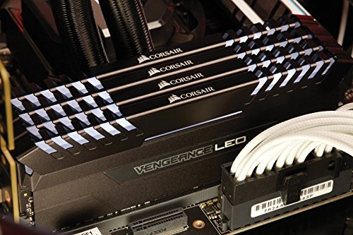 Corsair Vengeance LED 64GB (4x16GB) DDR4-3200