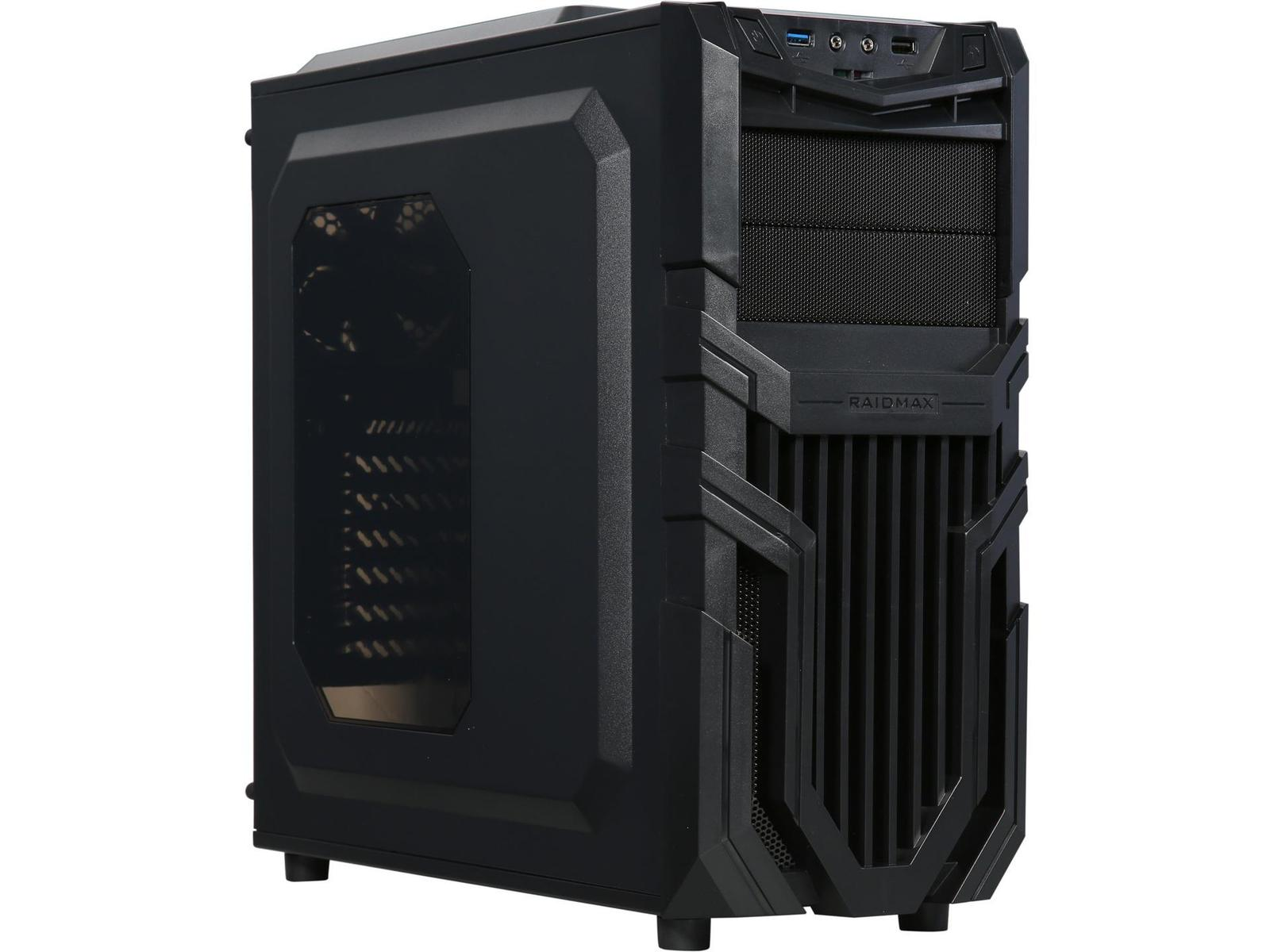 Raidmax Vortex V5 ATX Mid Tower (Preto)