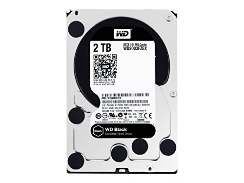 Western Digital HDD Black 2TB 3.5
