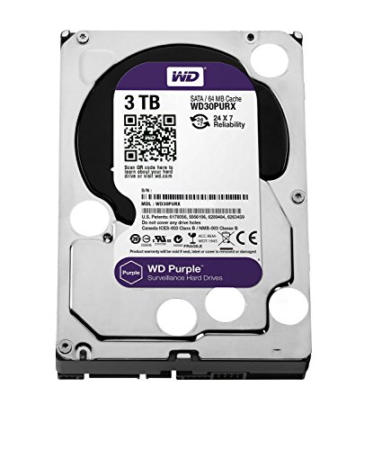 Western Digital HDD Purple 3TB 3.5