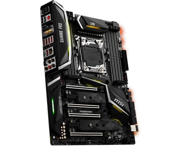MSI X299 GAMING PRO CARBON AC ATX LGA 2066