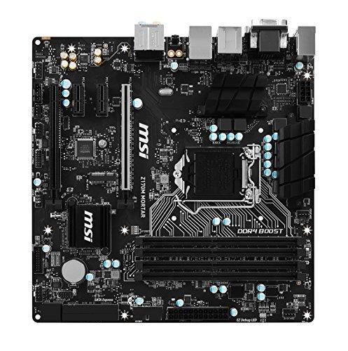 MSI Z170M MORTAR Micro ATX LGA 1151