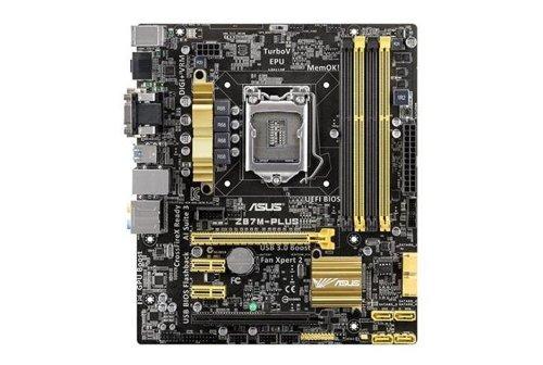 Asus Z87M-Plus Micro ATX LGA 1150