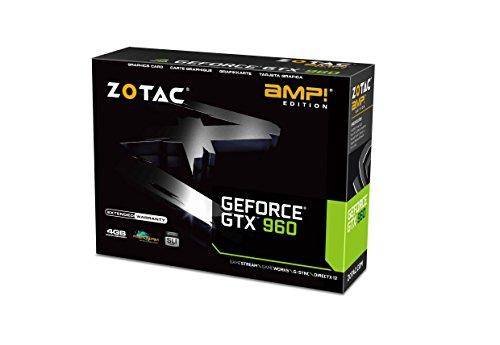 Zotac GeForce GTX 960 4GB GeForce 900 Series