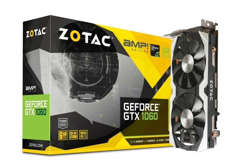 Zotac GeForce GTX 1060 6GB AMP!