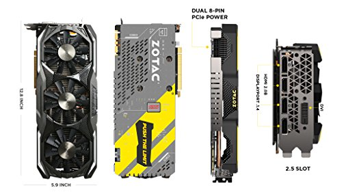 Zotac GeForce GTX 1070 8GB AMP Extreme