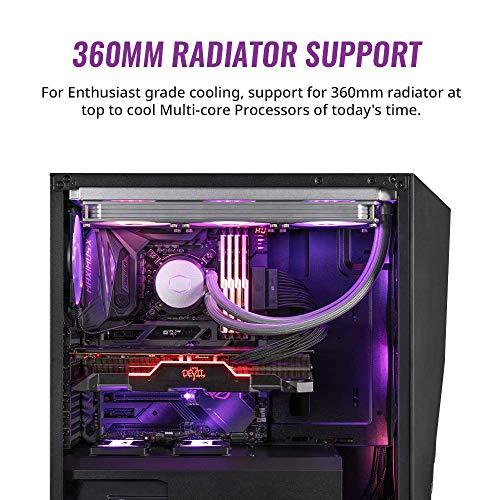 Cooler Master MASTERBOX K501L & K501L RGB ATX Mid Tower (Preto)