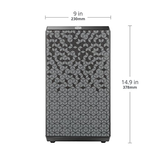 Cooler Master MasterBox Q300L MicroATX Mini Tower (Preto)