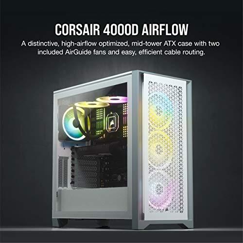 Corsair 4000D Airflow ATX Mid Tower (Branco)