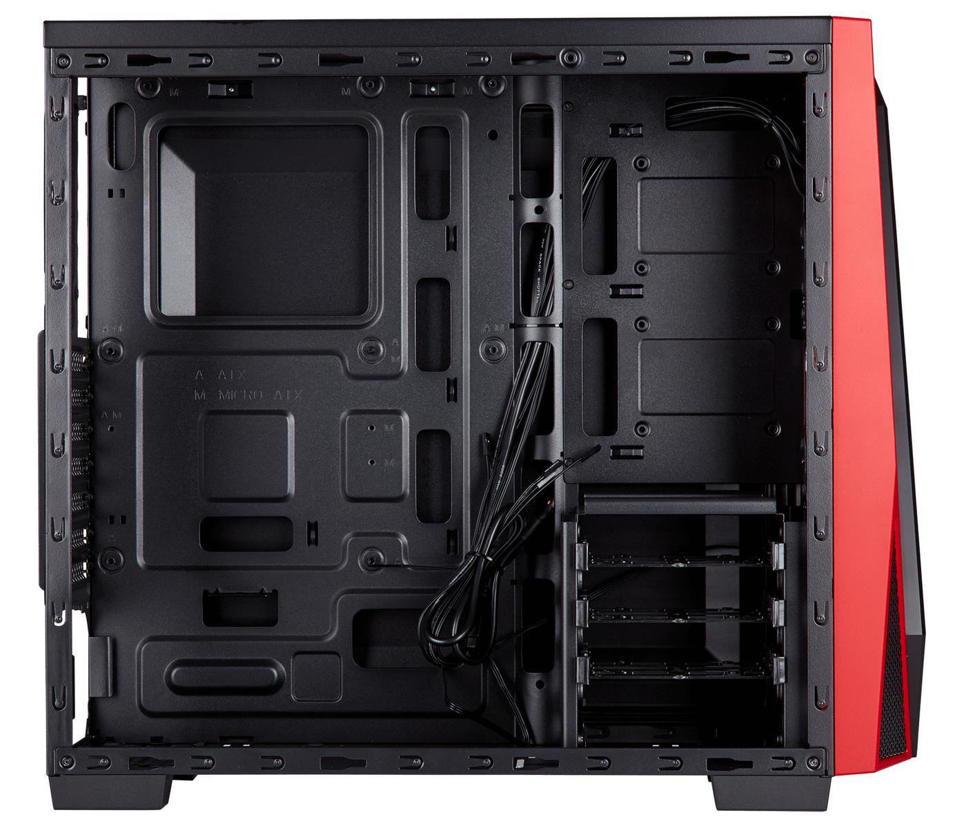 Corsair Carbide SPEC-04 ATX Mid Tower (Preto / Vermelho)