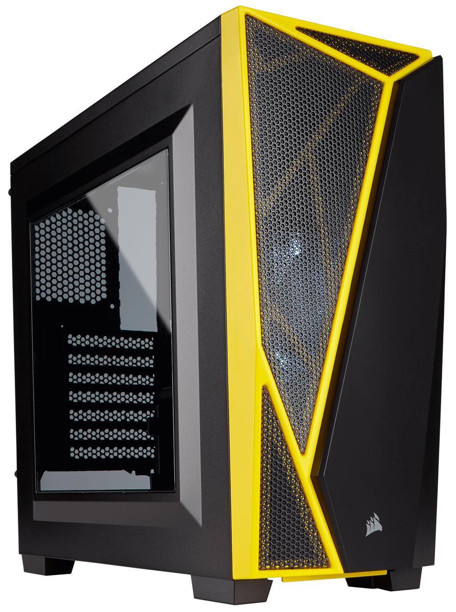Corsair Carbide SPEC-04 ATX Mid Tower (Preto / Amarelo)