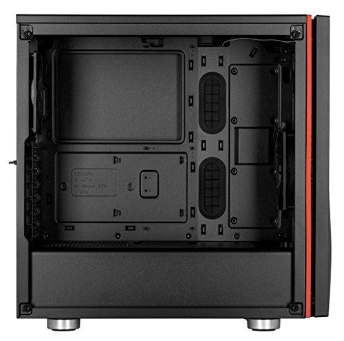 Corsair Carbide SPEC-06 ATX Mid Tower (Preto / Vermelho)