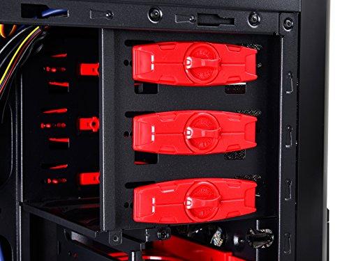 Deepcool Kendomen ATX Mid Tower (Preto / Vermelho)