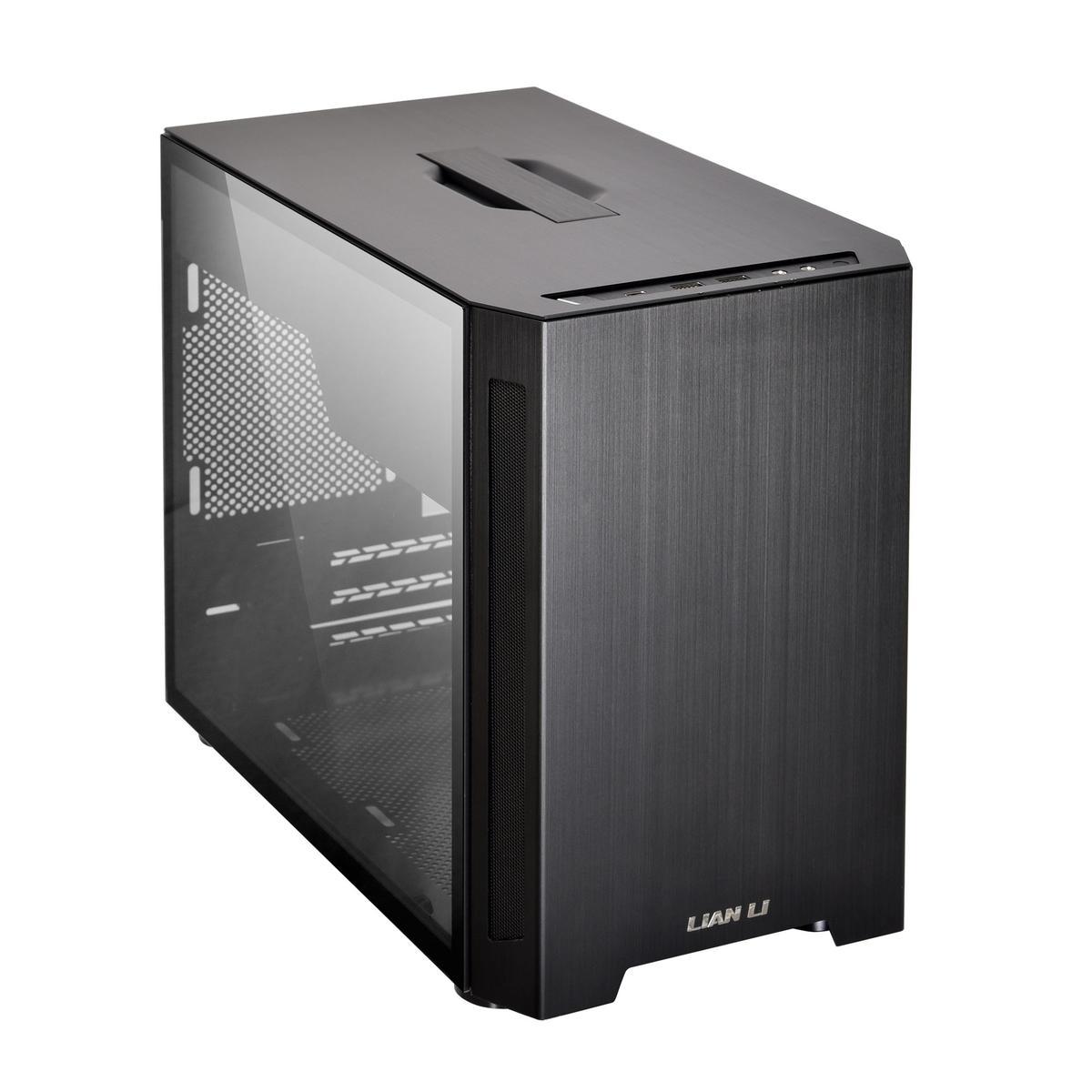 LIAN LI TU150 Mini ITX Desktop (Preto)