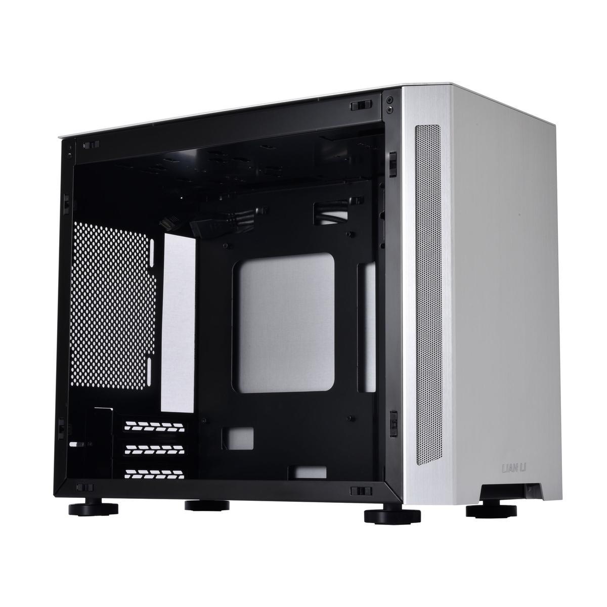 LIAN LI TU150 Mini ITX Desktop (Prata)