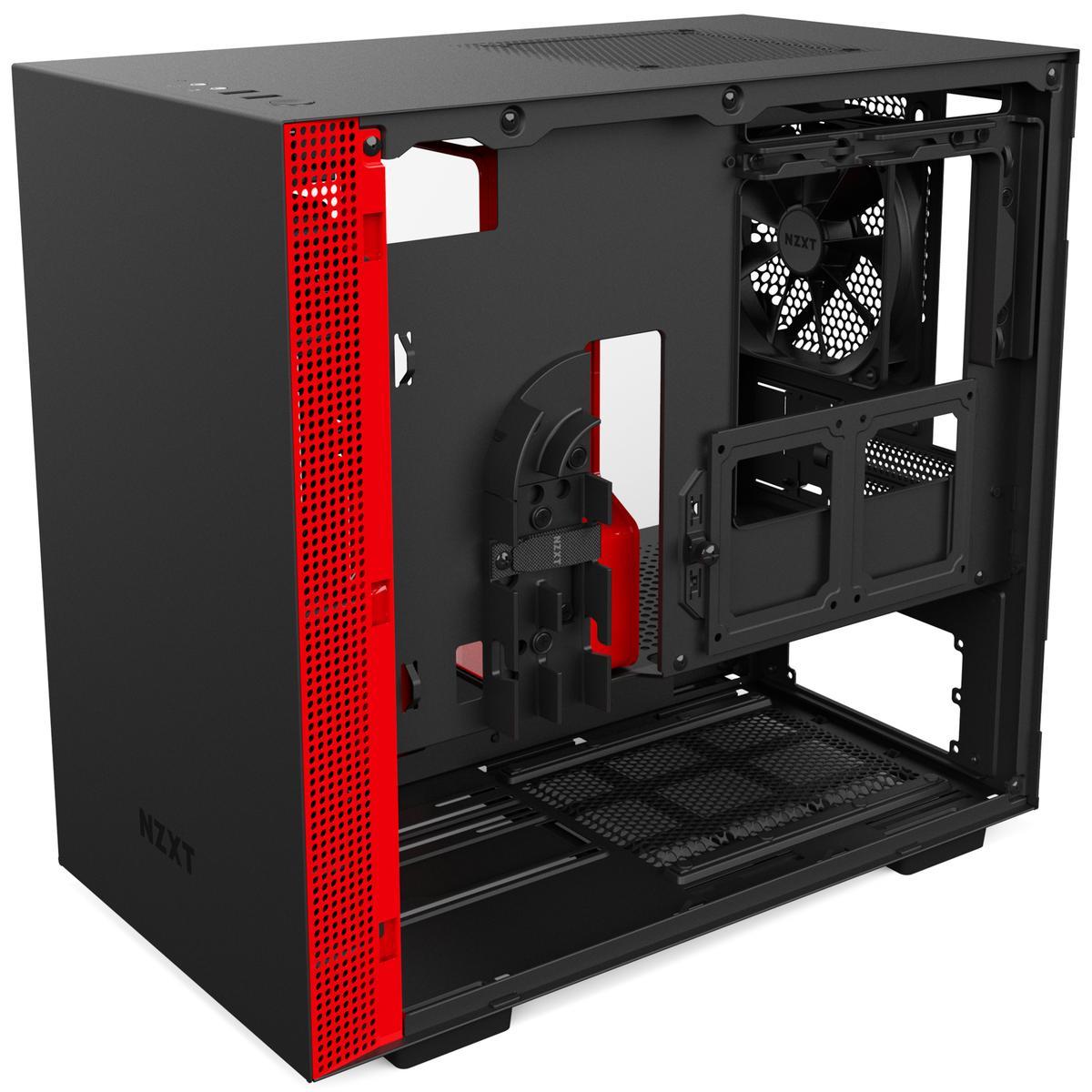 NZXT H200 Mini ITX Mini ITX Tower (Vermelho)