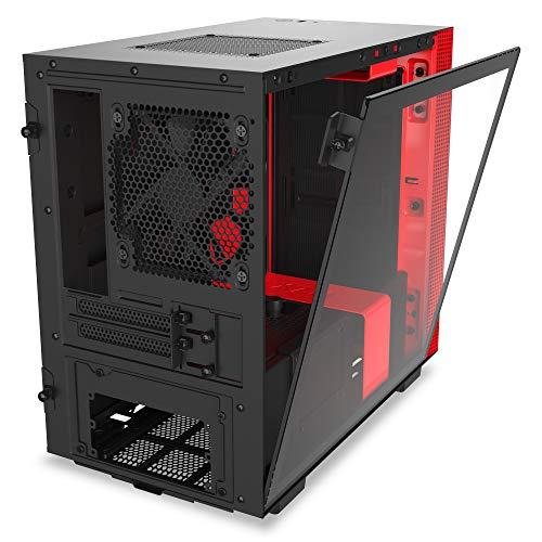 NZXT H210 Mini ITX Tower (Preto / Vermelho)
