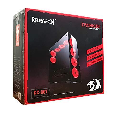 Redragon Ironhide Chroma ATX Full Tower (Preto)