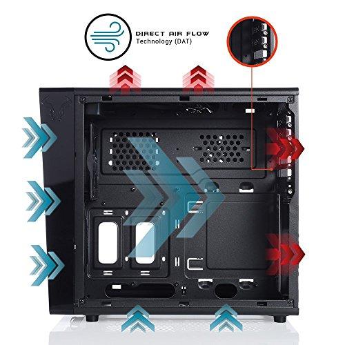 Riotoro Split Cubic Mini-ITX Cube (Preto)