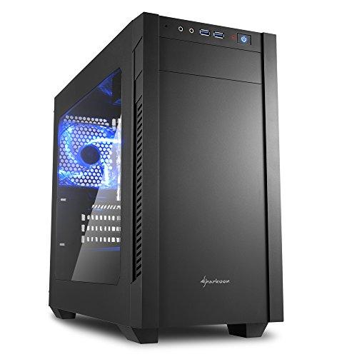 Sharkoon S1000 Window MicroATX Mid Tower (Preto)