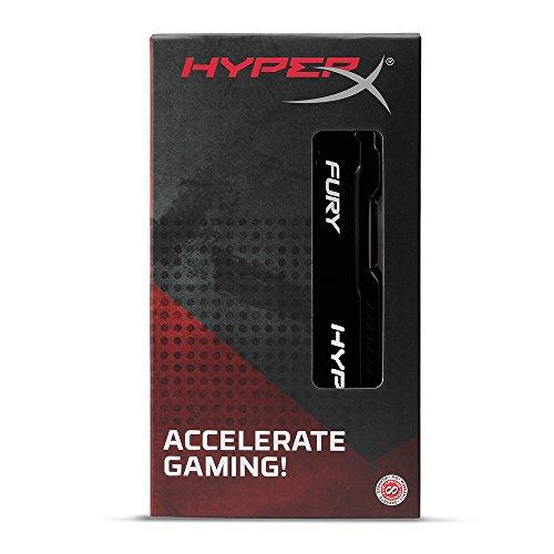 Kingston HyperX Fury Black Series 4 GB (1x4 GB) DDR3-1866