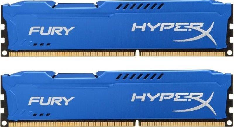 Kingston HyperX Fury Blue Series 16 GB (2x8 GB) DDR3-1600
