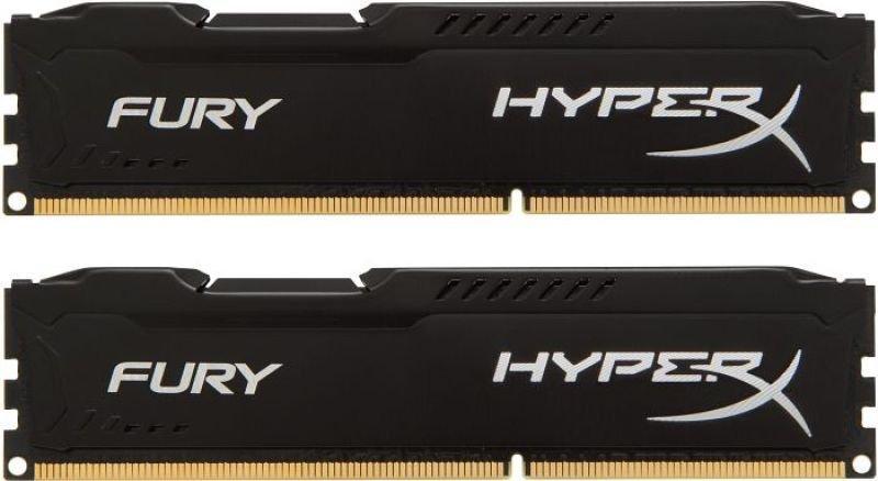 Kingston HyperX Fury Black Series 8 GB (2x4 GB) DDR3-1866