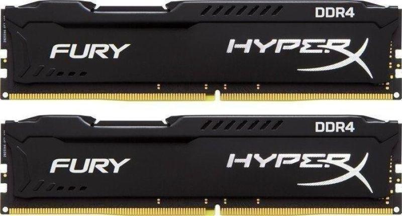 Kingston HyperX Fury Black Series 16 GB (2x8 GB) DDR4-2666