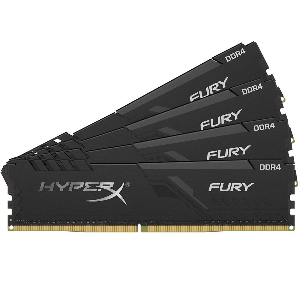 Kingston HyperX Fury 128 GB (4x32 GB) DDR4-2666