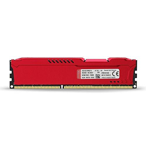Kingston HyperX Fury Red Series 8 GB (1x8 GB) DDR3-1600
