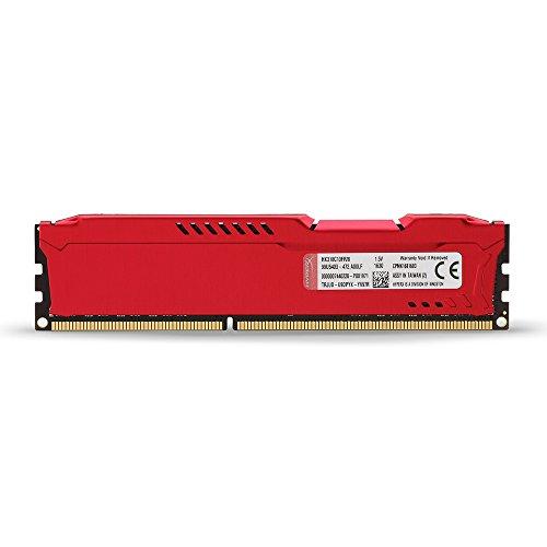 Kingston HyperX Fury Red Series 8 GB (1x8 GB) DDR3-1866