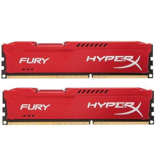 Kingston HyperX Fury Red Series 16 GB (2x8 GB) DDR3-1866