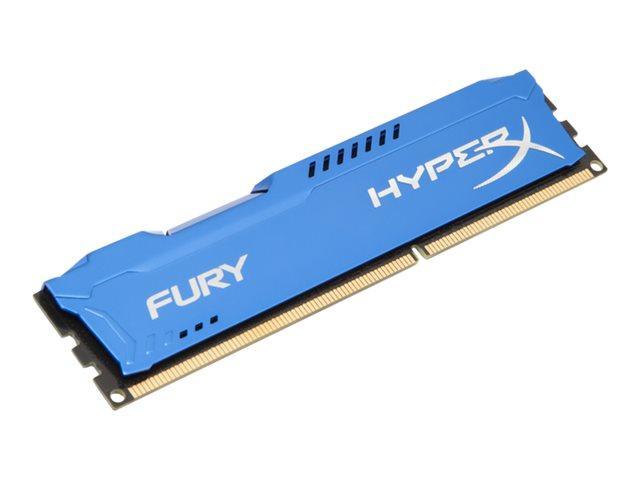 Kingston HyperX Fury Blue Series 4 GB (1x4 GB) DDR3-1866
