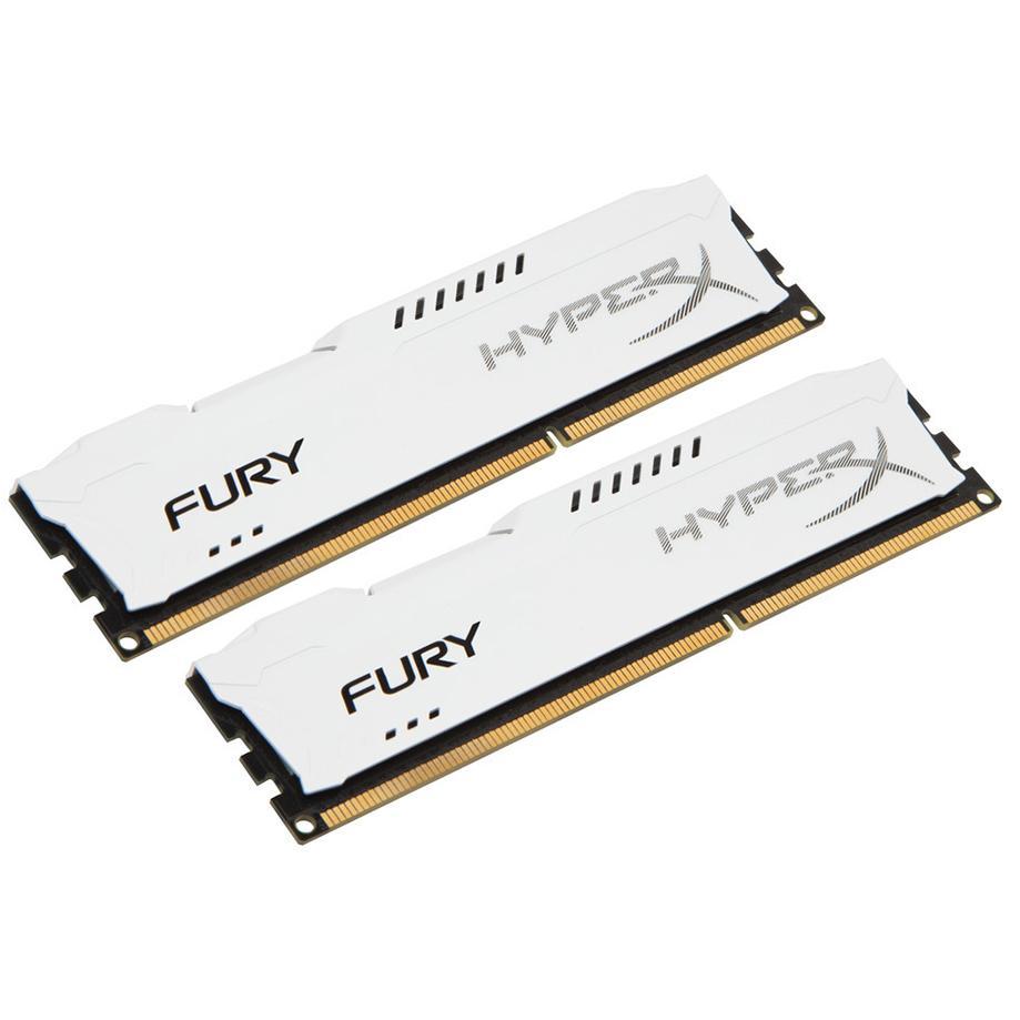 Kingston HyperX Fury White Series 16 GB (2x8 GB) DDR3-1866