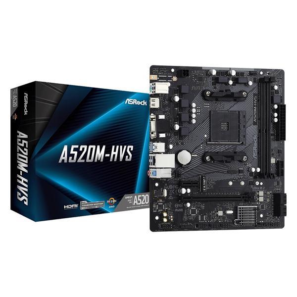 ASRock A520M-HVS Micro ATX AM4