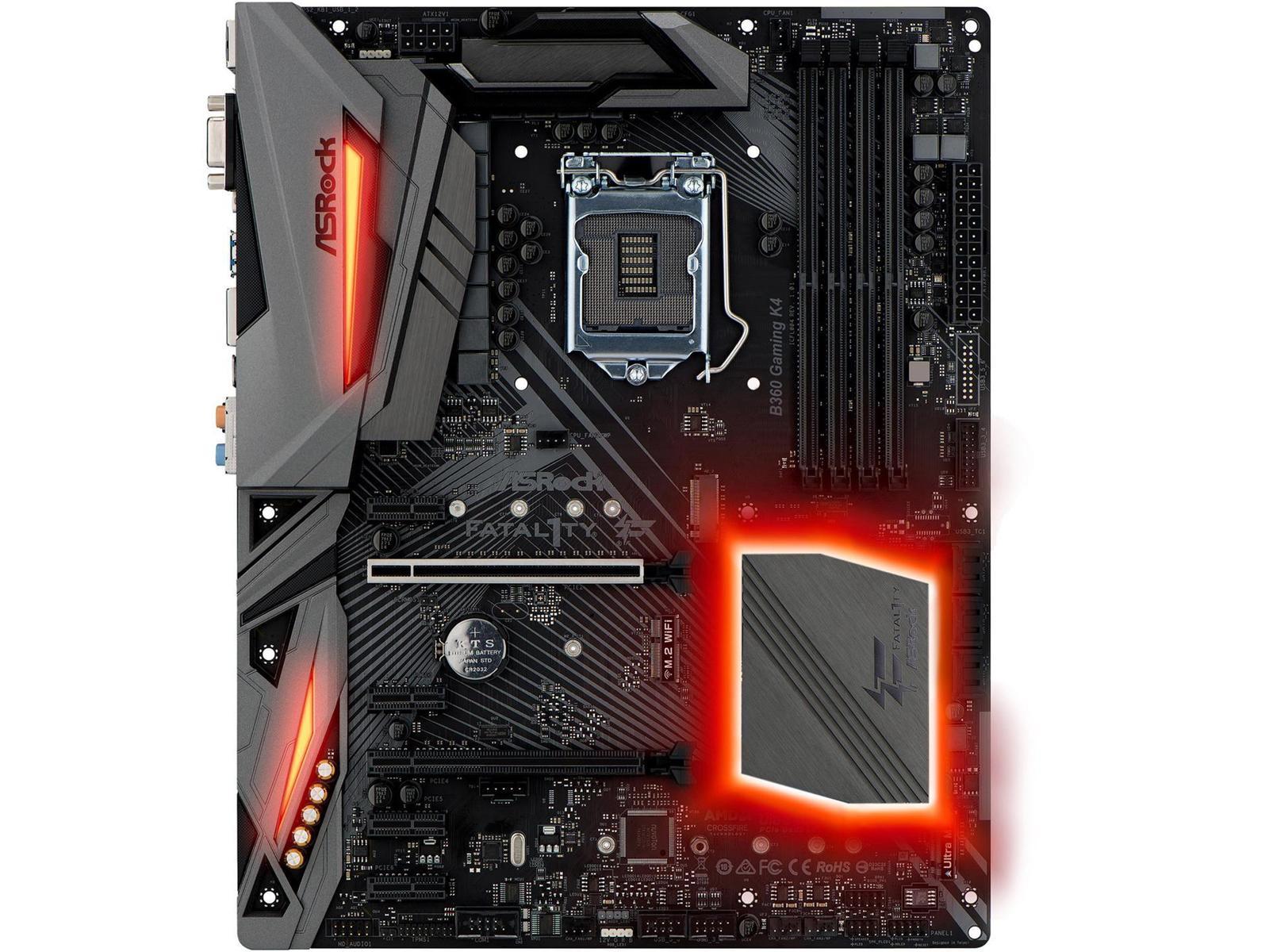 ASRock Fatal1ty B360 Gaming K4 ATX LGA 1151