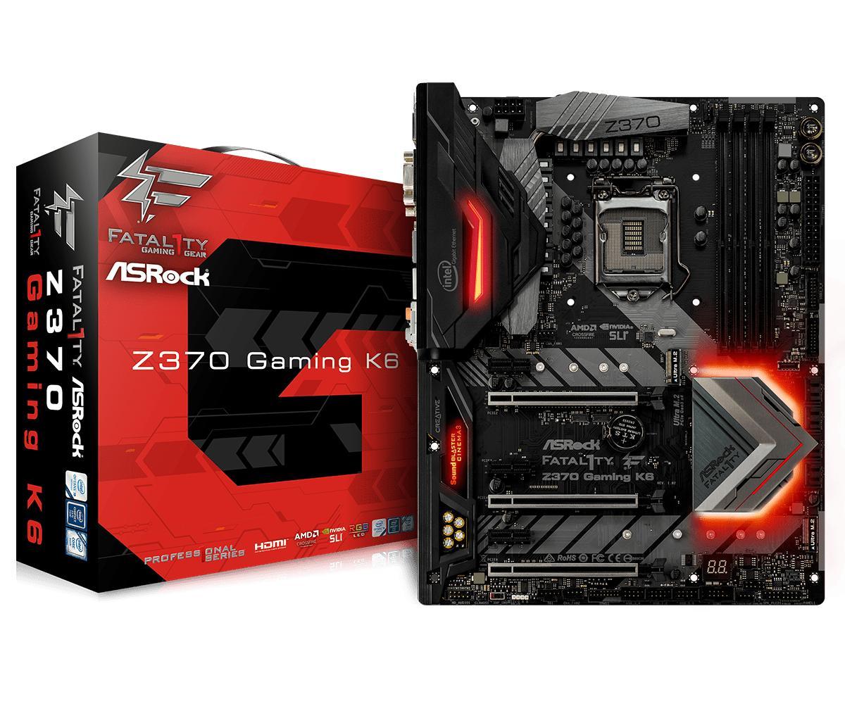 ASRock Fatal1ty Z370 Gaming K6 ATX LGA 1151